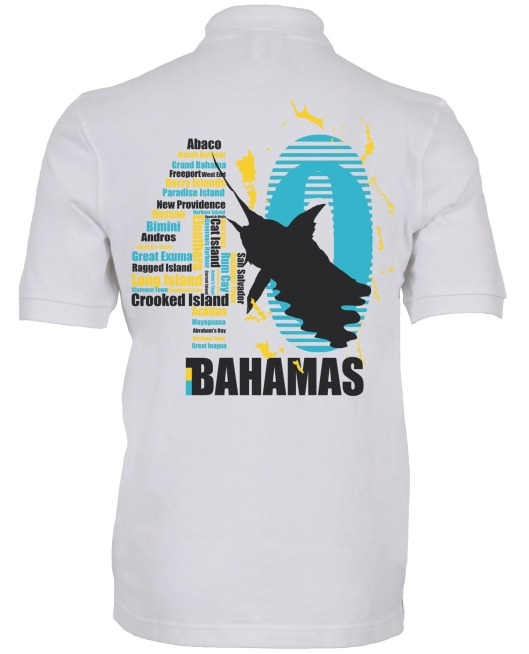 Bahamas Independence shirt white