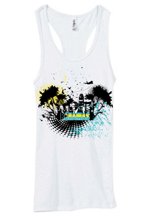 Bahamas Independence shirt white