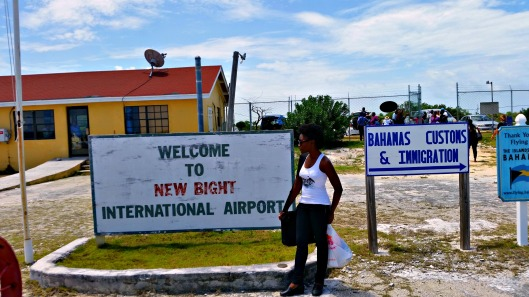 Welcome to New Bight International Airport