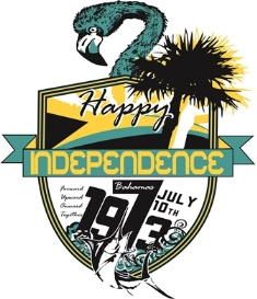 bahamas independence shirt design 3