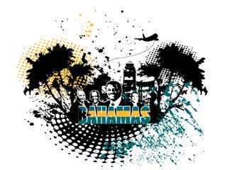 Bahamas Independence T-Shirt Design 2
