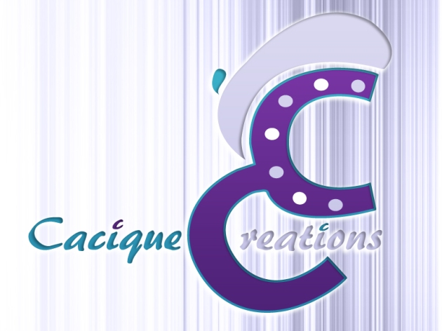 cacique creations logo design