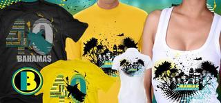Bahamas Independence Shirt Designs