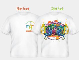 Mermaid's Marina shirt design