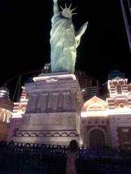 statue of liberty in las vegas nevada