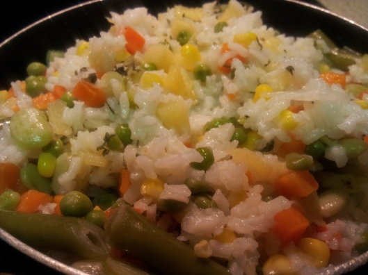 Lemon Rice with Pineapple