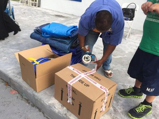 hurricane joaquin Relief Project - Grand Bahama 5