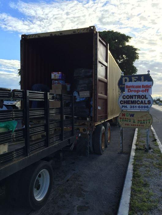 hurricane joaquin Relief Project - Grand Bahama 6