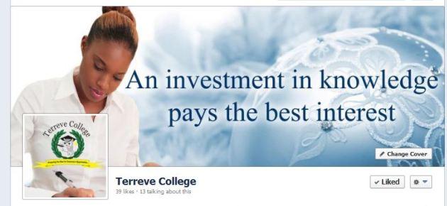 terreve college facebook banner